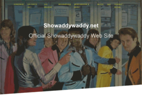 Showaddywaddy.net thumbnail