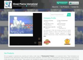 Shreejipharma.co.in thumbnail