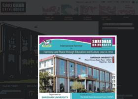 Shridharuniversity.org.in thumbnail