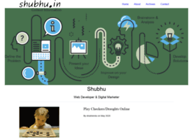 Shubhu.in thumbnail
