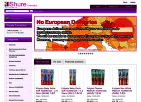 Shure-cosmetics.co.uk thumbnail