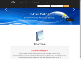 Siater5.ubl.ac.id thumbnail