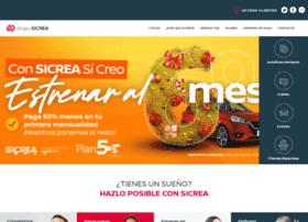 Sicrea.com.mx thumbnail