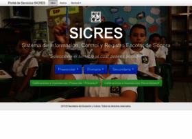 Sicres.gob.mx thumbnail