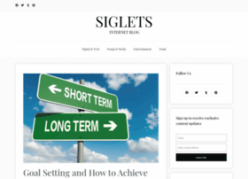 Siglets.com thumbnail