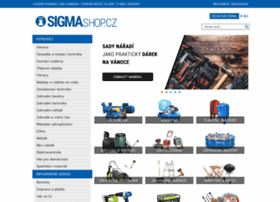 Sigmashop.cz thumbnail