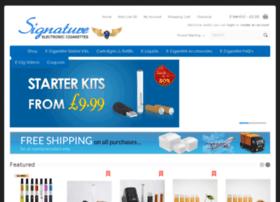 Signatureelectroniccigarette.co.uk thumbnail