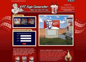 Signgenerator.kfccruelty.com thumbnail