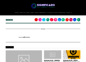 Significadodossonhos.inf.br thumbnail