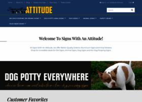 Signswithanattitude.com thumbnail