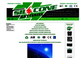 Siliconebatteries.ca thumbnail