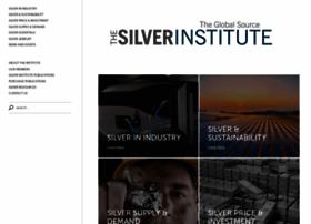Silverinstitute.org thumbnail