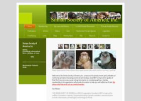 Simiansociety.org thumbnail