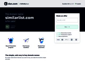 Similarlist.com thumbnail