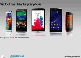 Simlockcalculators.com thumbnail