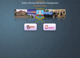 Simpeg.serangkab.go.id thumbnail