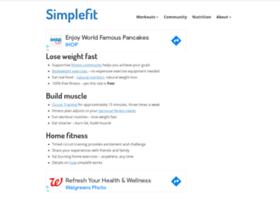 Simplefit.org thumbnail