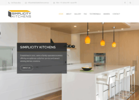 At Wi Simplicity Kitchens Canberra Act Kitchen Designer