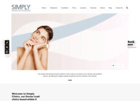 Simplyclinics.co.uk thumbnail