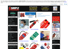 Simplyextinguishers.co.uk thumbnail