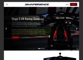 simxperience com at WI  SimXperience® Full Motion Racing Simulator
