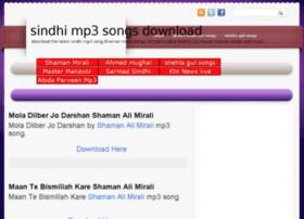 Sindhimp3songs.blogspot.com thumbnail
