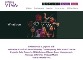 Sinfoniaviva.co.uk thumbnail
