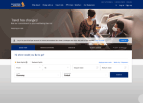 Singaporeair.com thumbnail