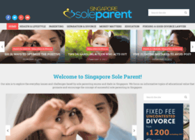 Singaporesoleparent.com.sg thumbnail
