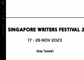 Singaporewritersfestival.com thumbnail
