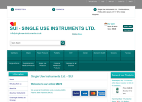 Single-use-instruments.co.uk thumbnail