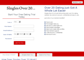 Free singles dating sites in south africa