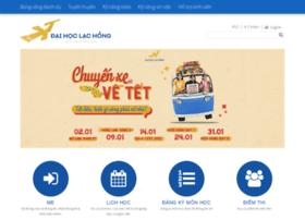 Sinhviendanghoc.lhu.edu.vn thumbnail
