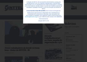 Sinttelrs.org.br thumbnail