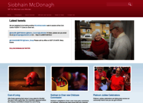 Siobhainmcdonagh.org.uk thumbnail