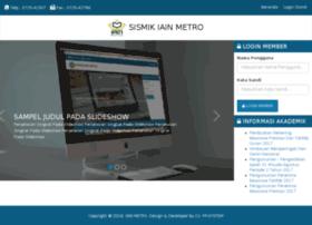 Sismik-stainmetro.com thumbnail