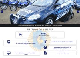 Sistemaspfa.gob.ar thumbnail