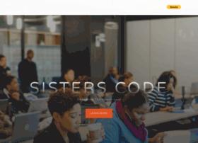 Sisters-code.org thumbnail