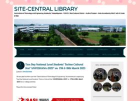 Sitecentrallibrary.wordpress.com thumbnail