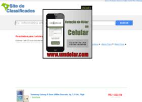 Sitedeclassificados.com.br thumbnail