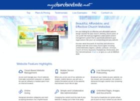 Sites.mychurchwebsite.net thumbnail