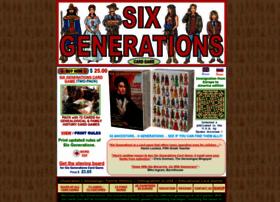 Sixgenerations.com thumbnail
