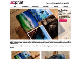 Sixprint.co.uk thumbnail