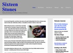 Sixteenstones.net thumbnail