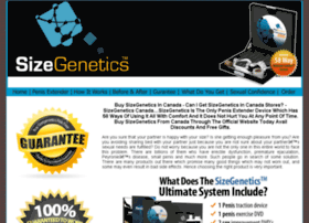 Sizegenetics-canada.com thumbnail