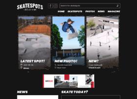 Skatespots.be thumbnail