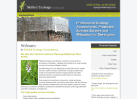 Skilledecology.co.uk thumbnail