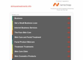 Skincaretreatments.info thumbnail