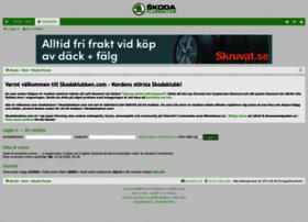 Skodaklubben.com thumbnail