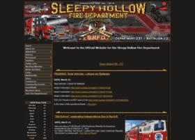Sleepyhollowfd.org thumbnail